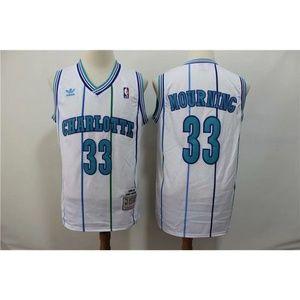 Charlotte Hornets Alonzo Mourning Jersey